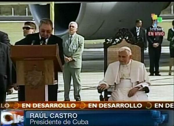 Su Santidad le damos la bienvenida a Cuba (+Audio)