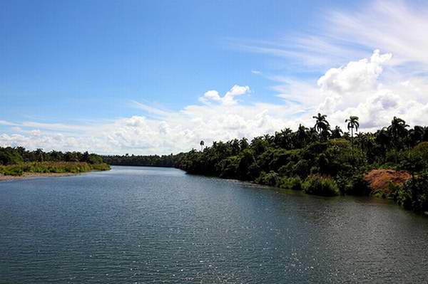 Río Toa, Baracoa, Cuba.