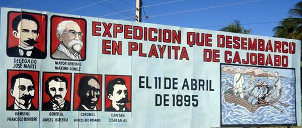 Cubans Mark Historic Arrival of Jose Marti in Cuba to Fight Spanish Colonial Rule