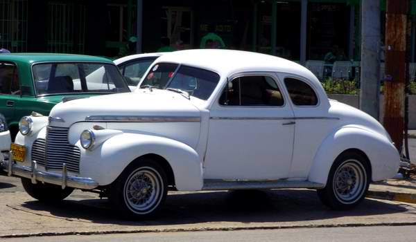 Chevrolet business coupe 1940. Foto: Abel Rojas.