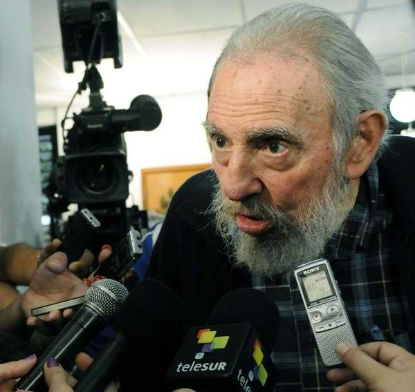 Fidel Castro Sends Letter to Evo Morales on Day of the Sea