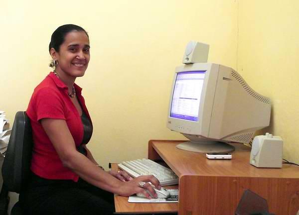 Informática cubana. Foto Abel Rojas.