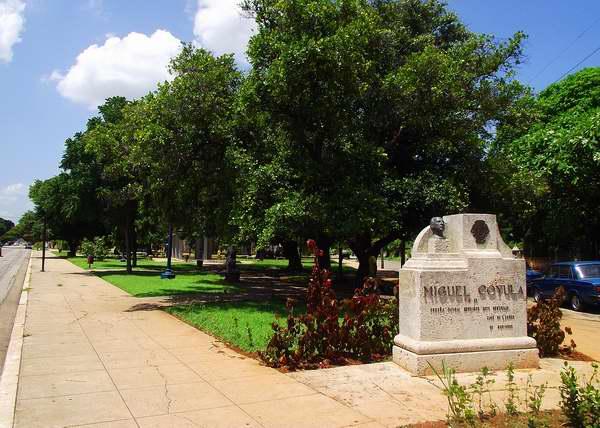 Parque Miguel Coyula en el municipio Playa, La Habana, Cuba. Foto: Abel Rojas.