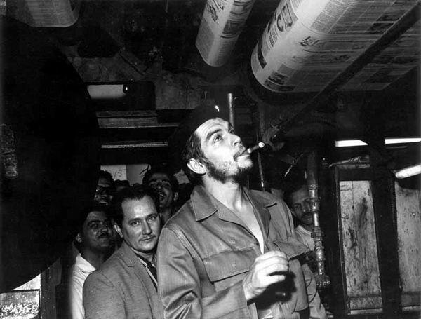 El Che como ministro de Industrias en Cuba