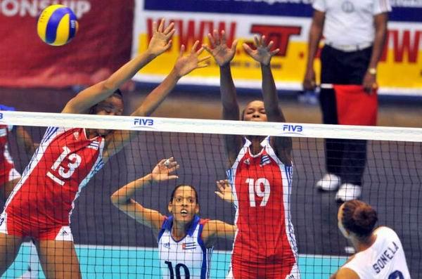 Comenzará en la Ciudad Deportiva Copa Panamericana Sub-23 de Voleibol. Foto Ricardo López Hevia