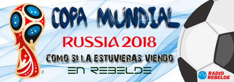 Rusia 2018 en Rebelde