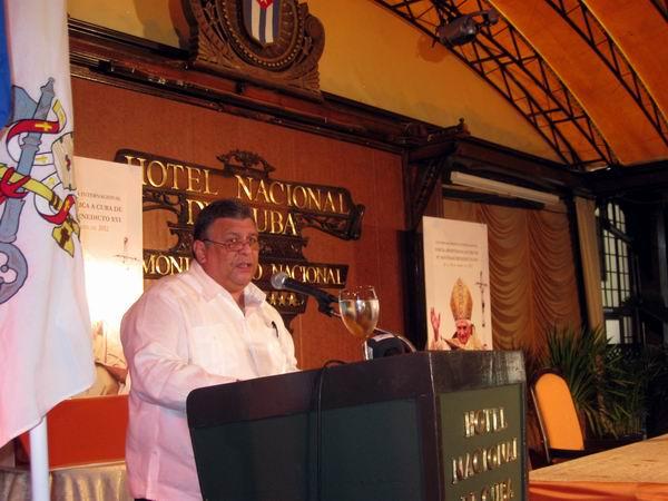 Vicepresidente de los Consejos de Estado y de Ministros, Marino Murillo Jorge