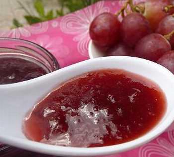 Dulce de uvas.