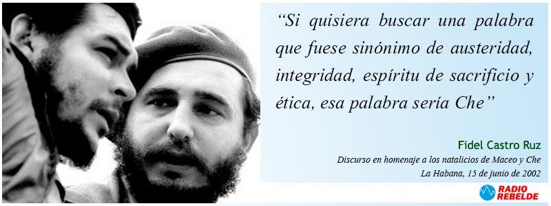 Fidel Castro - Discurso en homenaje a los natalicios de Maceo y Che. La Habana, 15 de junio de 2002