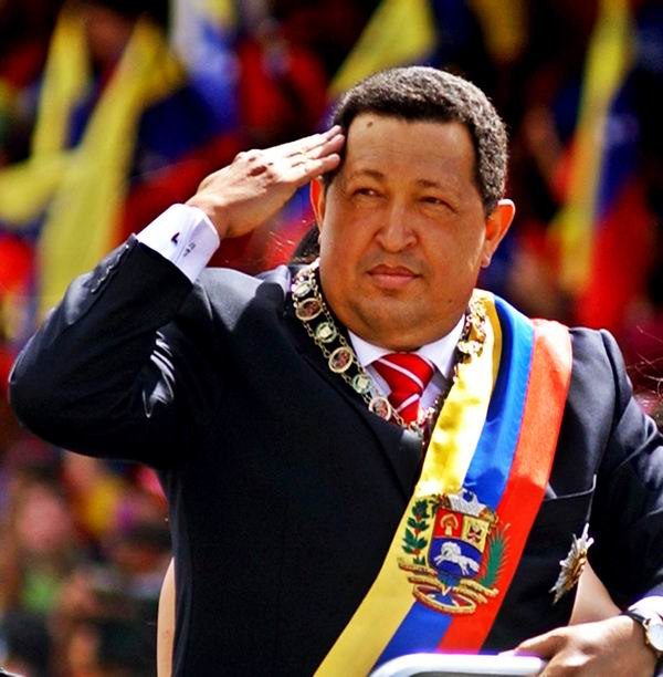Homage to Hugo Chavez in Cuba